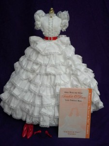 Franklin Mint For the Love of Tara Ensemble for 15.5 Inch Scarlett O'Hara Doll