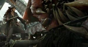 Jack Sparrow & the Kraken