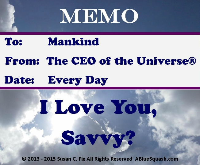 CEO of the Universe® Memo