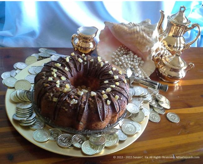 Ginger Bacardi Rum Cake