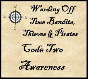 Warding Off Time Bandits Pirates Thieves Code 2 © 2013 - 2015 Susan C. Fix All Rights Reserved