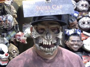 Skull w Baseball Cap Mask © 2013 - 2015 Susan C. Fix All Rights Reserved ABlueSquash.com