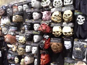 Wall of Masks © 2013 - 2015 Susan C. Fix All Rights Reserved ABlueSquash.com