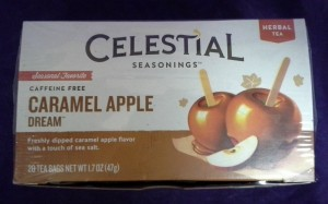 Celestial Seasonings Caramel Apple Dream © 2013 - 2015 Susan C. Fix All Rights Reserved ABlueSquash.com