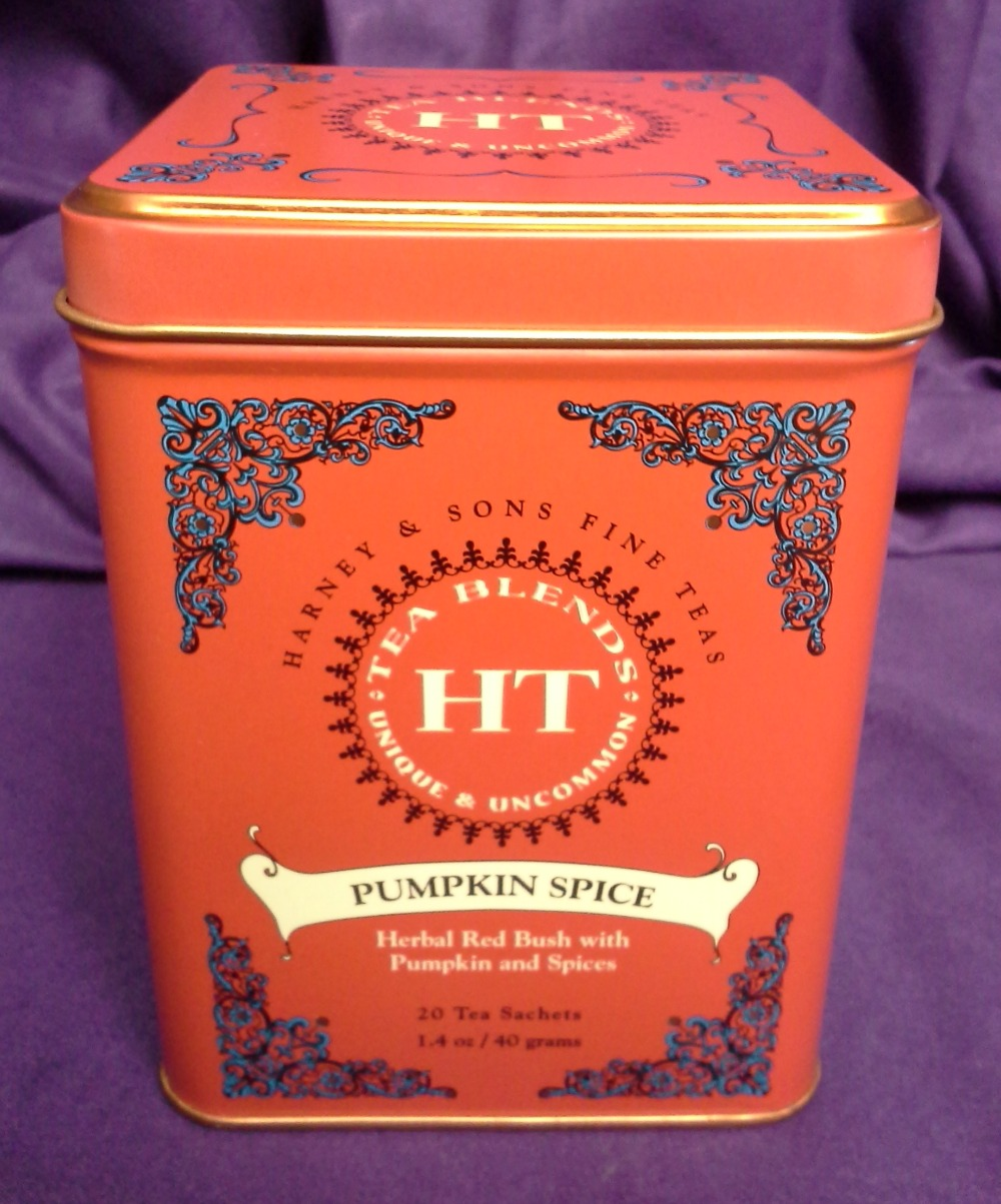 Harney & Sons Pumpkin Spice © 2013 - 2015 Susan C. Fix All Rights Reserved ABlueSquash.com