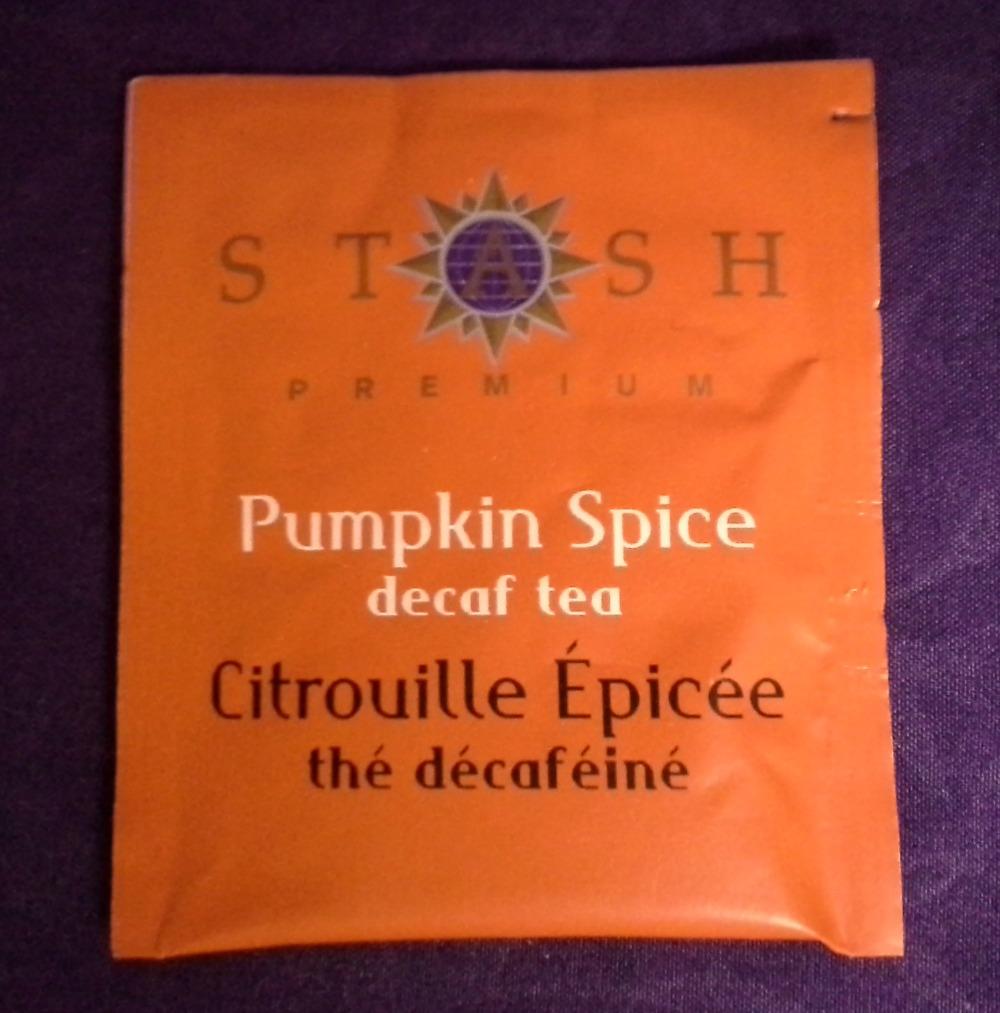Stash Pumpkin Spice Decaf © 2013 - 2015 Susan C. Fix All Rights Reserved ABlueSquash.com