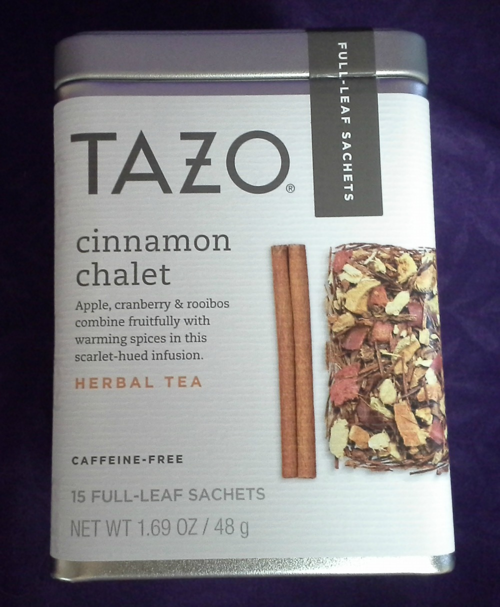 Tazo Cinnamon Chalet Stash Pumpkin Spice Decaf © 2013 - 2015 Susan C. Fix All Rights Reserved ABlueSquash.com