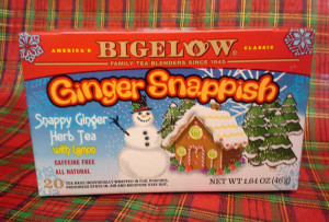 Bigelow Ginger Snappish © 2013 - 2015 Susan C. Fix All Rights Reserved ABlueSquash.com