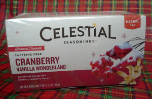 Celestial Seasonings Cranberry Vanilla Wonderland © 2013 - 2015 Susan C. Fix All Rights Reserved ABlueSquash.com