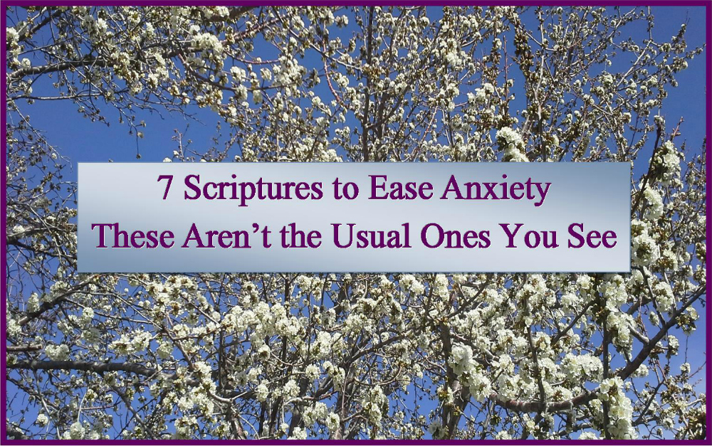 7 Scriptures to Ease Anxiety – These Aren't the Usual Ones You See