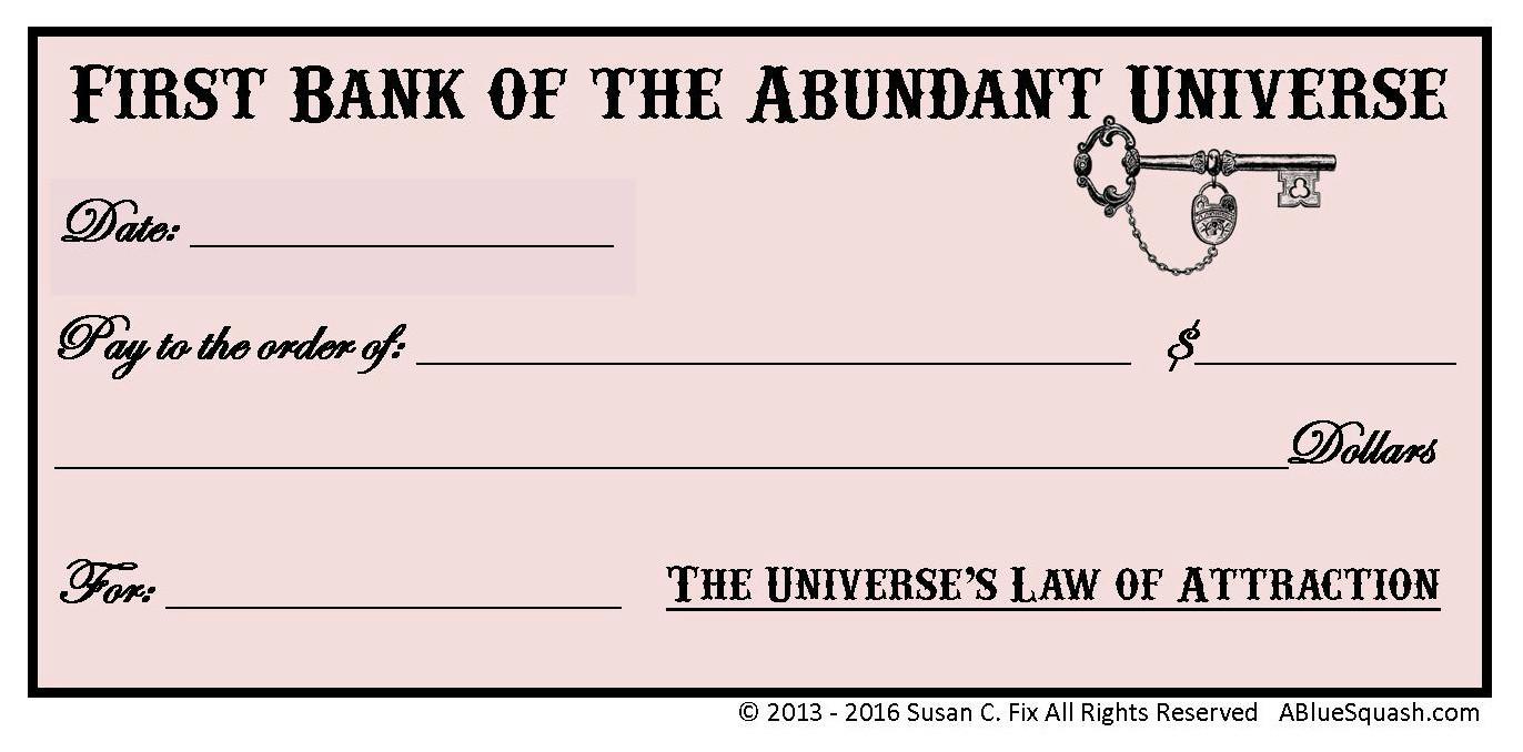 Write an Abundance Check on the New Moon