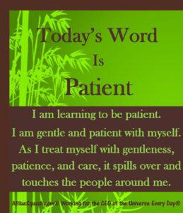 Patient 6-22-2016 © 2013 - 2016 Susan C. Fix All Rights Reserved ABlueSquash.com